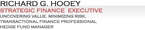 Richard G. Hooey Financial Management